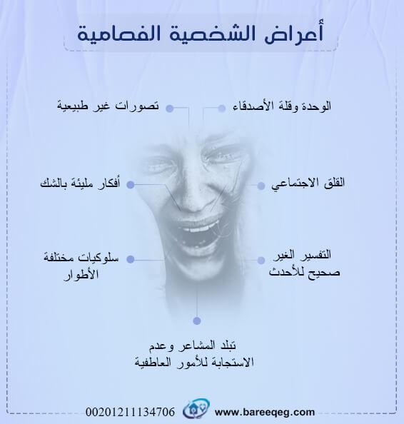 أعراض الشخصية الفصامية