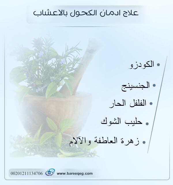 علاج إدمان الكحول بالاعشاب