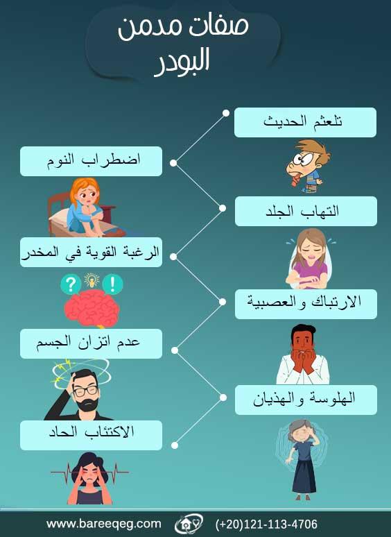 صفات مدمن الشادو