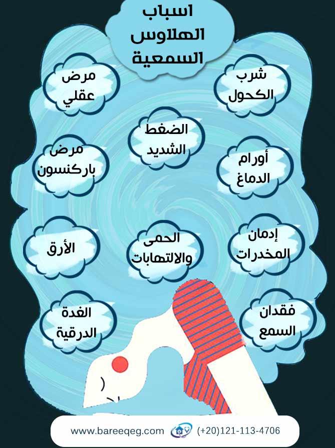 اسباب الهلاوس السمعية